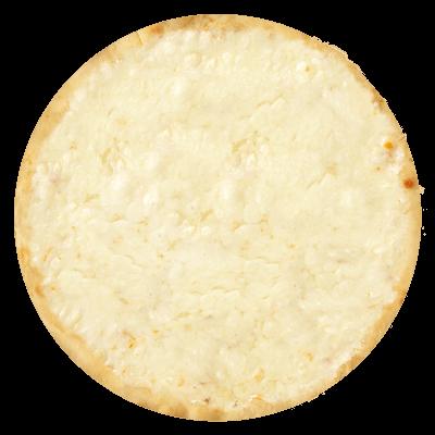 Base bianca e mozzarella